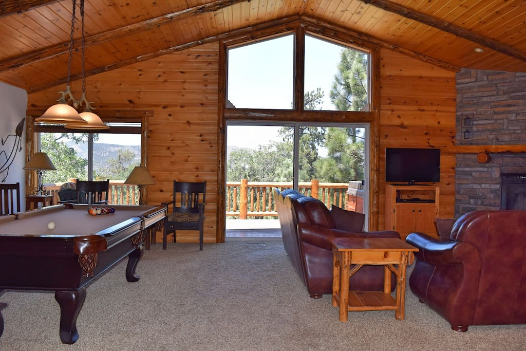 Autumn Bliss Hot Tub Slope Views Pool Table Cabins For Rent In Big Bear California