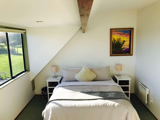 Bedroom One, Tutanekai Suite  - Queen Bed