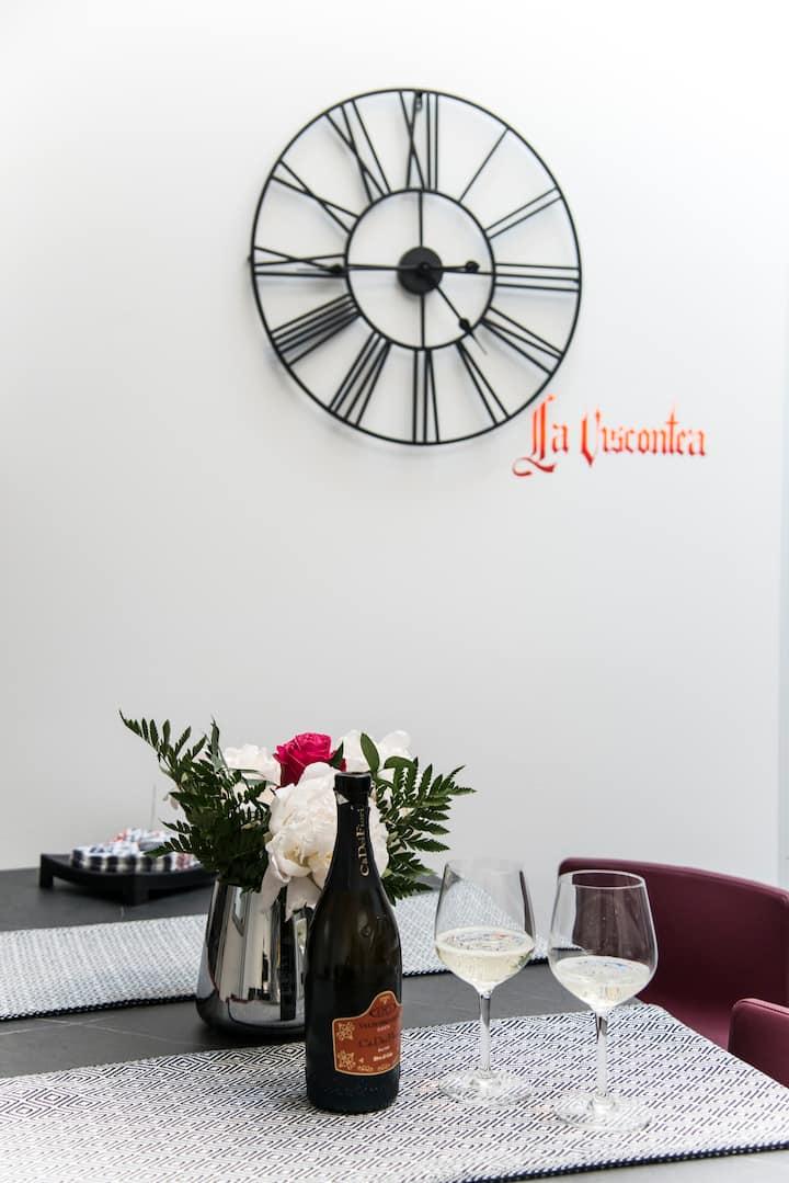 La Viscontea, cosy and romantic apartment in Lecco