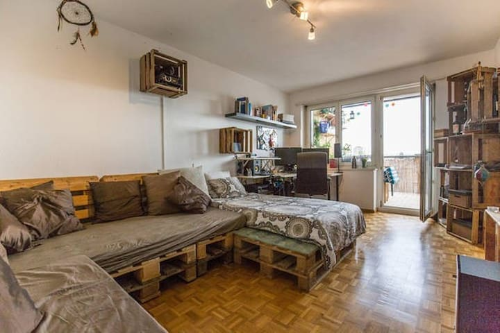 Charmin room in nice surrounding and easy accsess3 - Bazel - Appartement