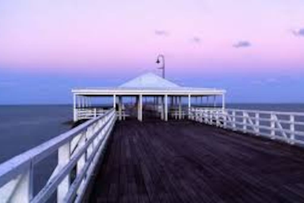 Historical Shorncliffe Pier