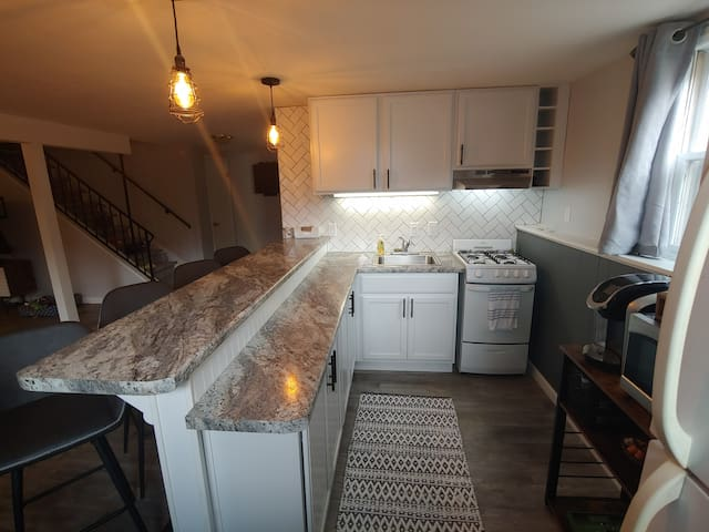 Newly remodeled apartment in trendy near-east side
