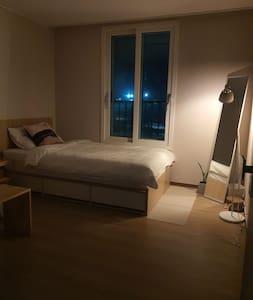 [아파트단독이용]neat&cozy깨끗하고 편안한 게스트 전용 아파트[소독]