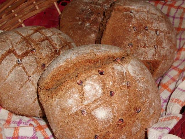 il mio pane fatto di solo farro antico