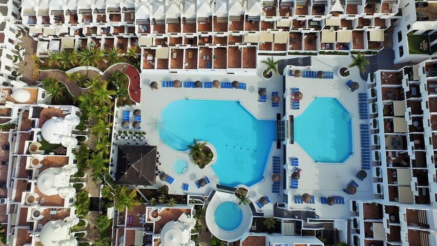 Splendid Ocean View 3 bed. Duplex, heated pool - Adeje