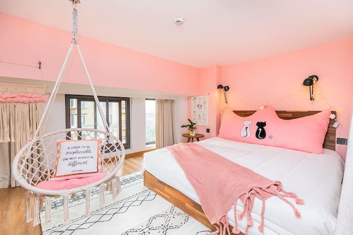 浪漫女孩的梦幻卧室