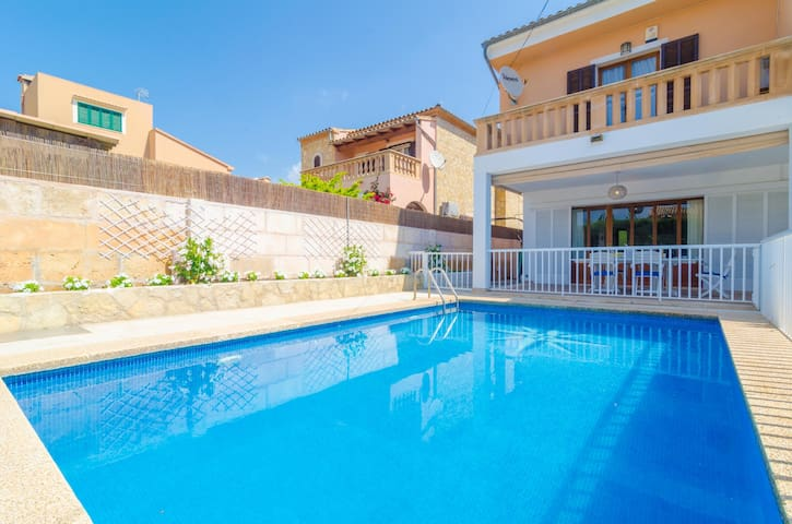 XALET CA S'HEREU - Villa with private pool in Cala Millor. Free WiFi