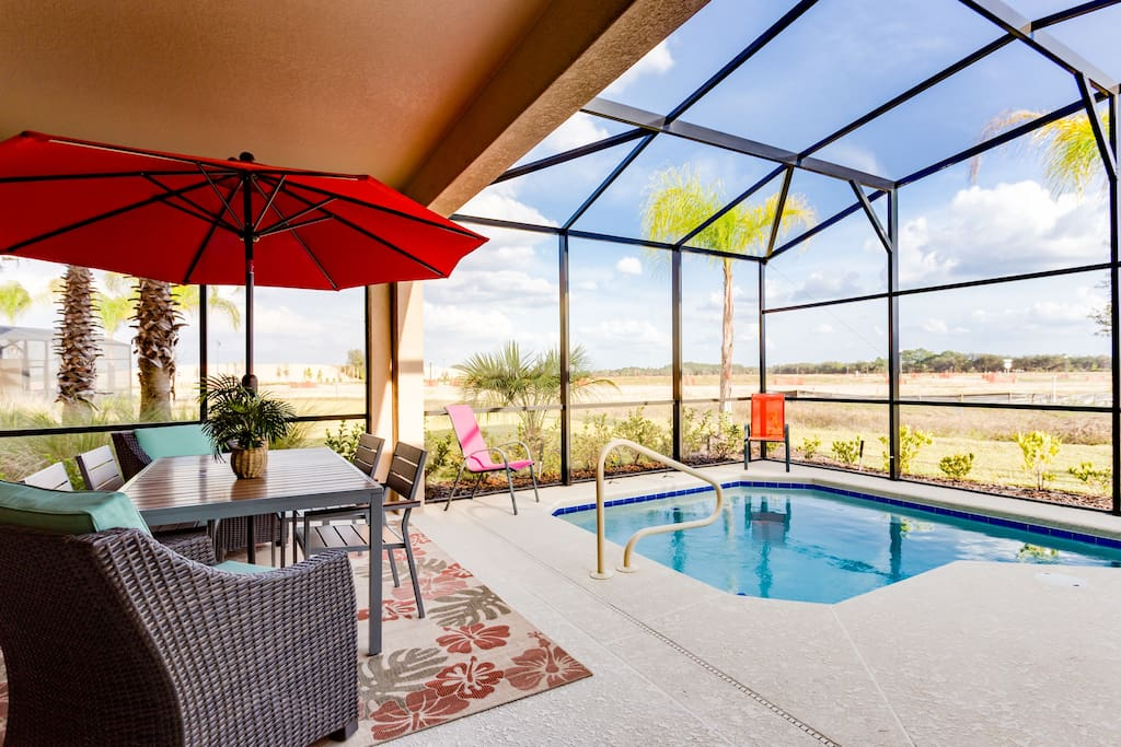 South Facing Sundeck and Pool - Soak Sun All day Long