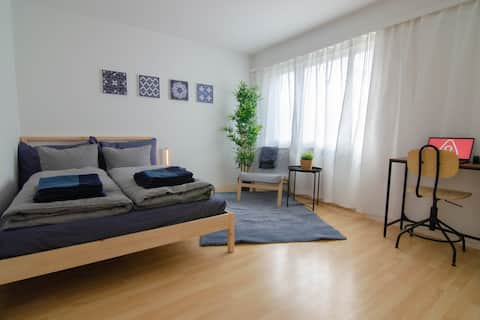 Fully equipped cozy private studio with parking