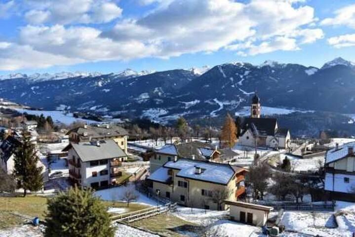 Super Wohnung in den Dolomiten, tolle Aussicht