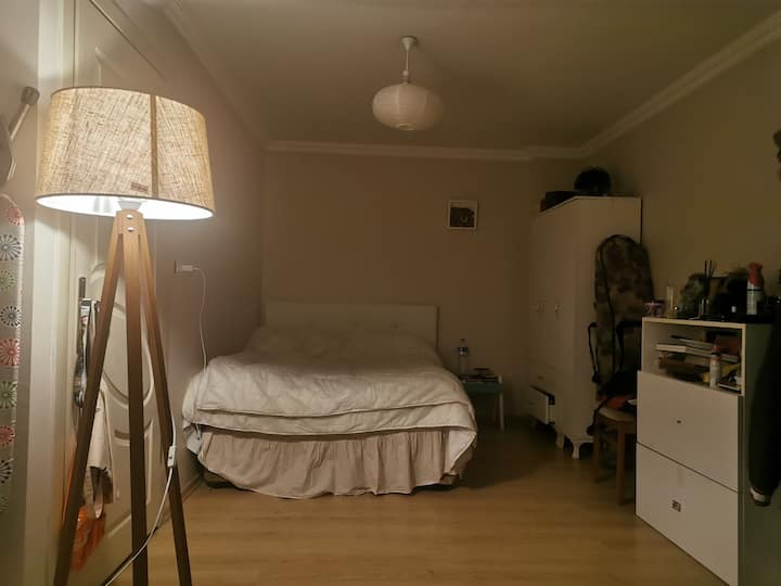I have a lovely two-room and terrace