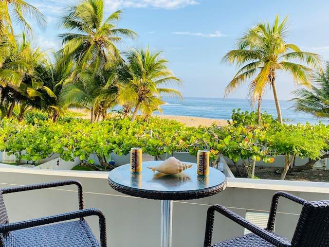 Amazing Beachfront Condo Private access to Beach