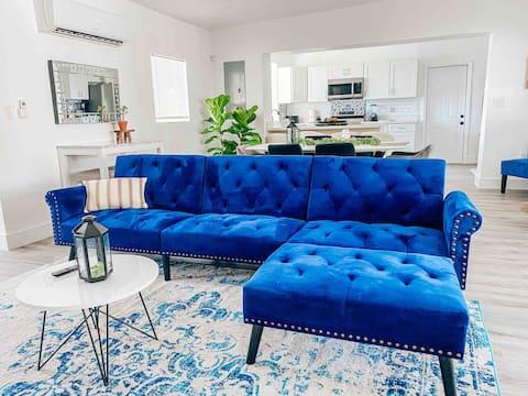 Spacious Modern 3BR Home near Nightlife & Beaches