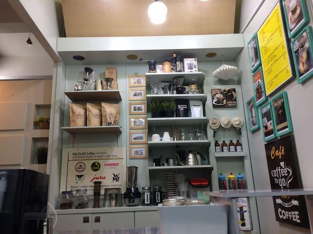 打一份咖啡小馆工换一个简单住宿 - 淡边