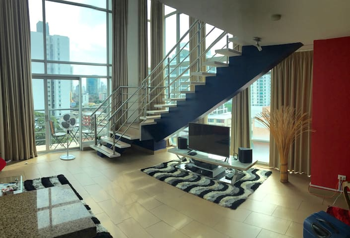 Luxury Loft in Via Argentina - El Cangrejo - Panamá - Leilighet