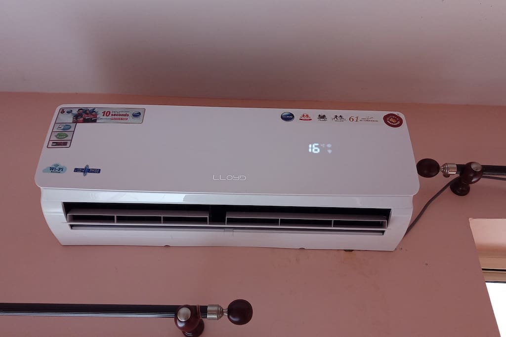 new AC for cool Air