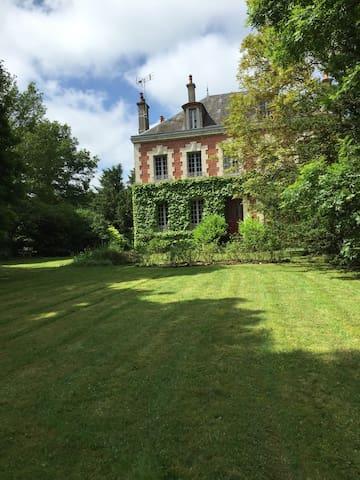 Chambre privée romantique.Petit dej - La motte Ternant - ที่พักพร้อมอาหารเช้า