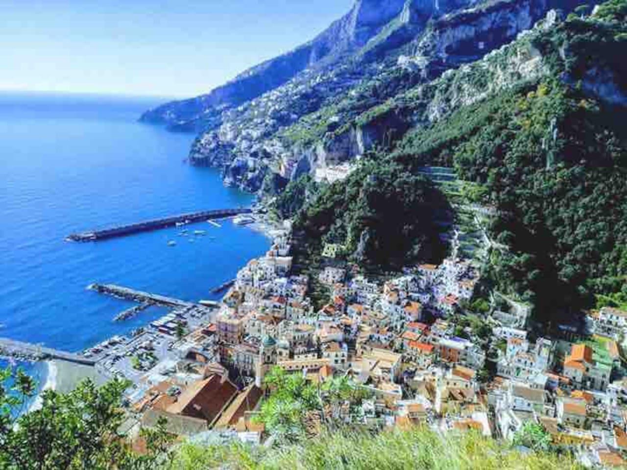 Amalfi's view