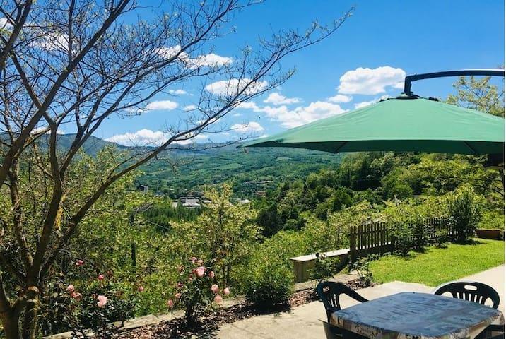 Casa con vista panoramica Borgo Val di Taro