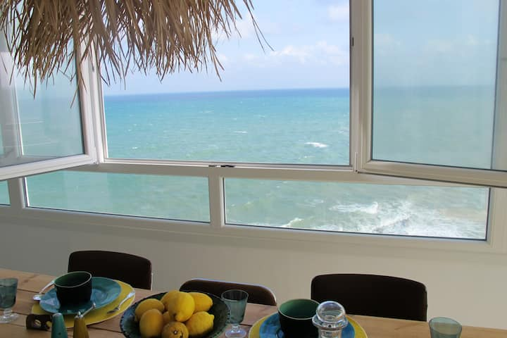 Apartment with 3 bedrooms in San Roque, with wonderful sea view and WiFi - 110 m from the beach
