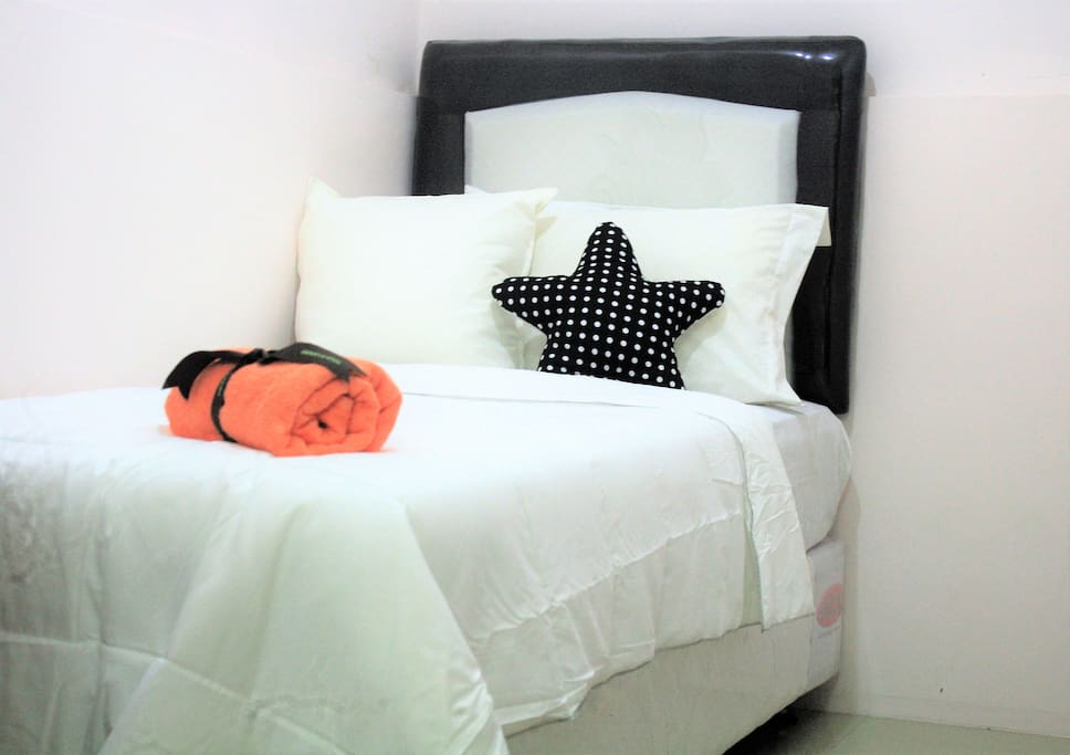Bed room 2 with comfy single bed (size 90x 200)