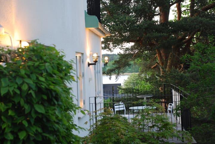 Fantastic villa, close to Stockholm, beach& tennis