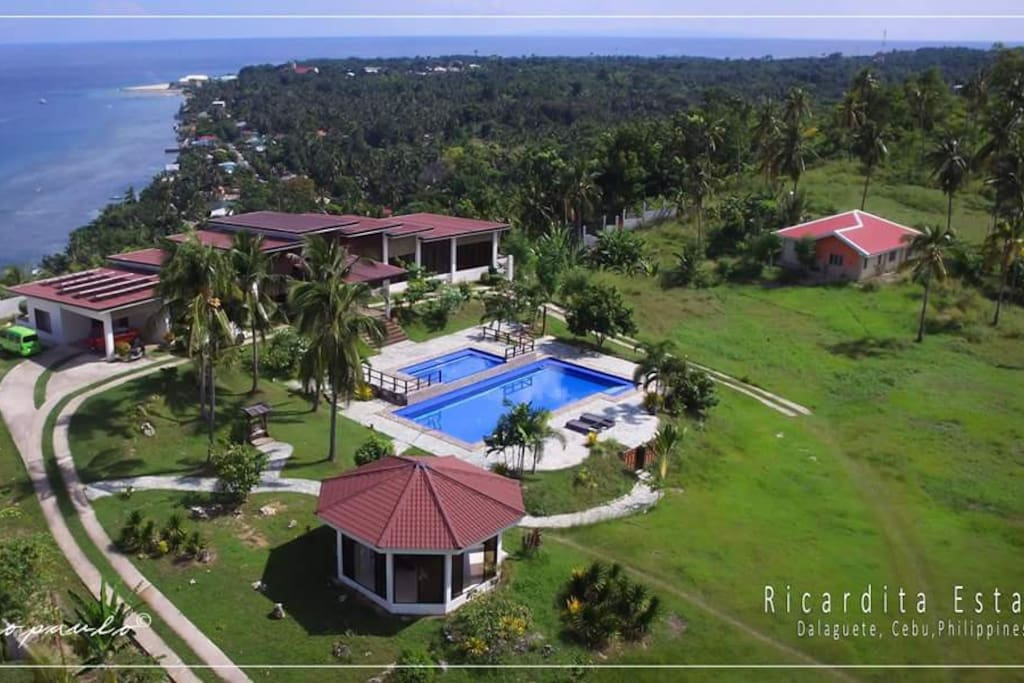 Modernistic Large House and Big Swimming Pool Cebu ...
