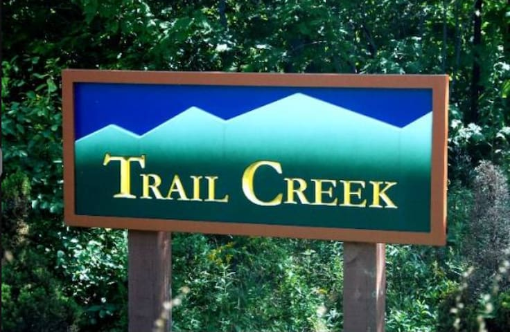 Trail Creek is a short walk to lifts and lodges