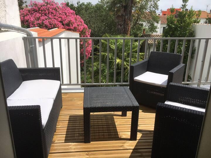 Villa et jardin à 400m plage de Royan Gde conche
