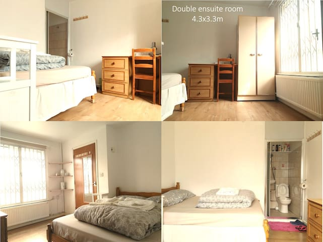 Cosy and comfortable ensuite double room