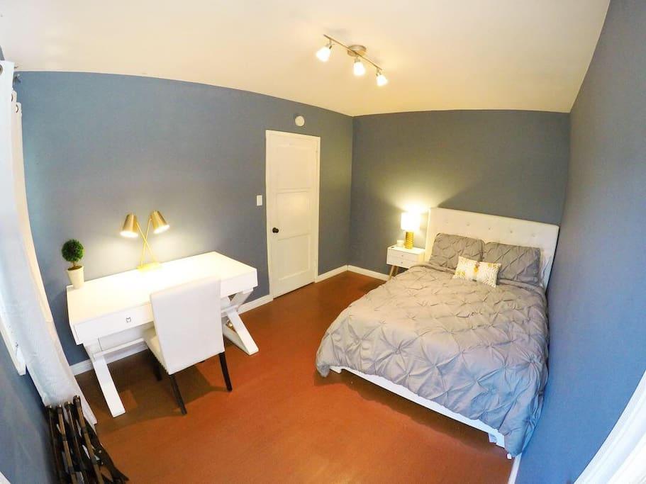 Cozy room near universal studios h user zur miete in for Badezimmer justin