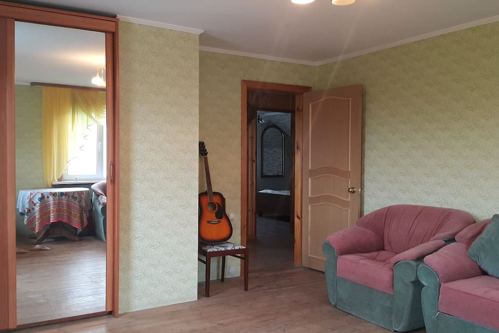 Комната №1, выход.