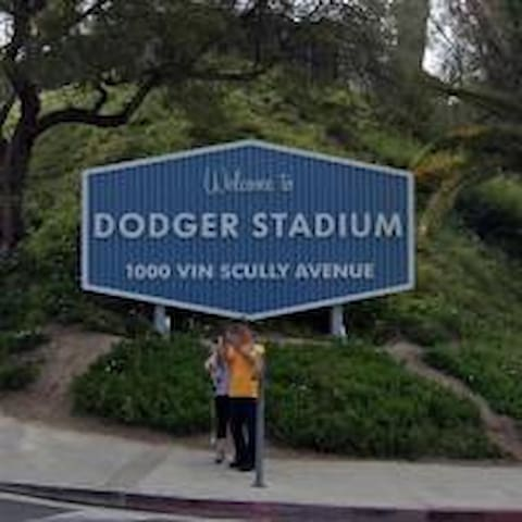 Dodger Stadium House