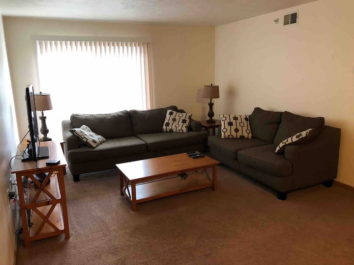 Junction City 2 Bedroom Furnished Apt Home