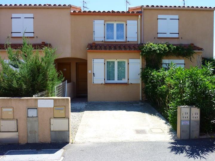 Hus med 2 soverom i Argelès-sur-Mer med fantastisk fjellutsikt og terrasse - 600 m fra stranden