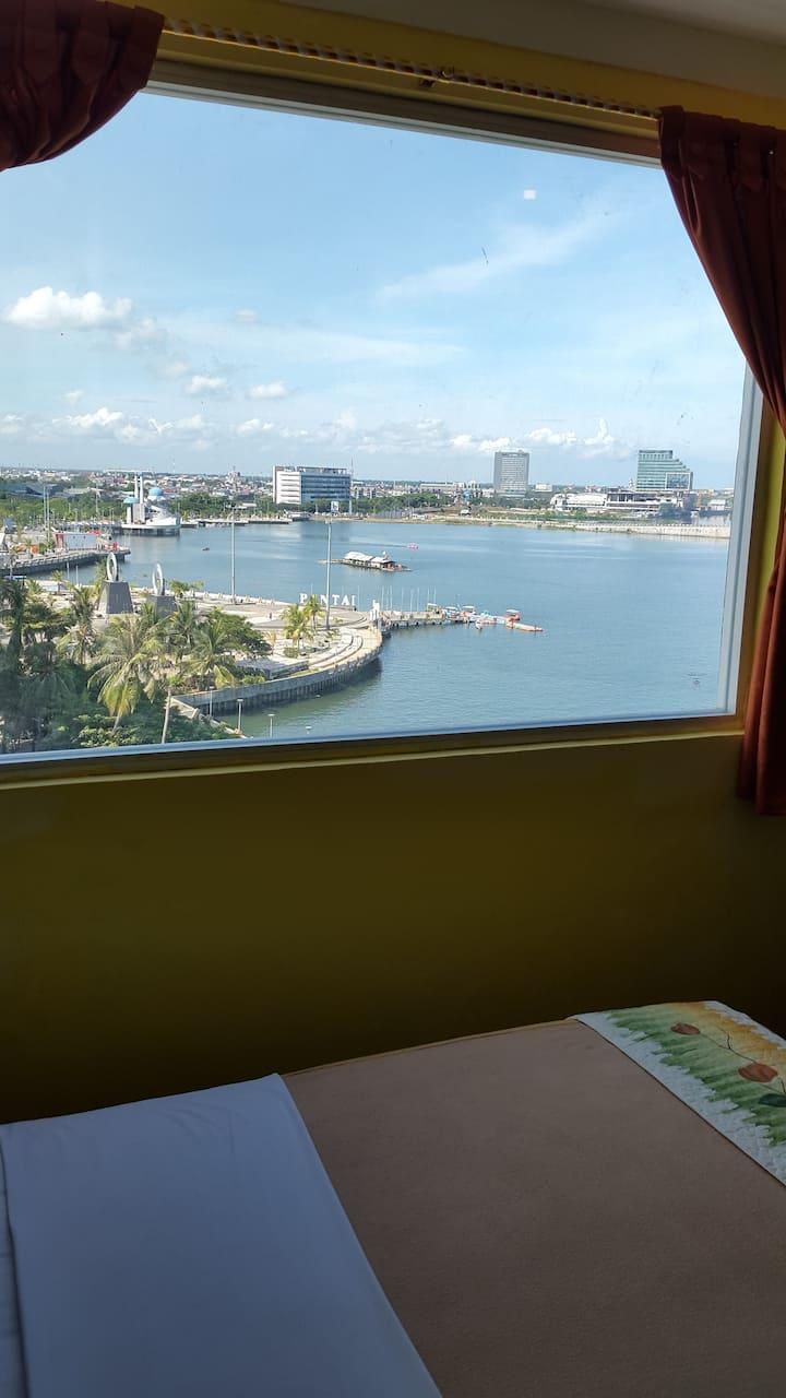 Hotel rooms at Losari Beach