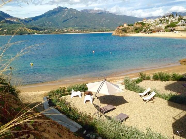 Rare - Location Propriano - Pieds dans l'eau