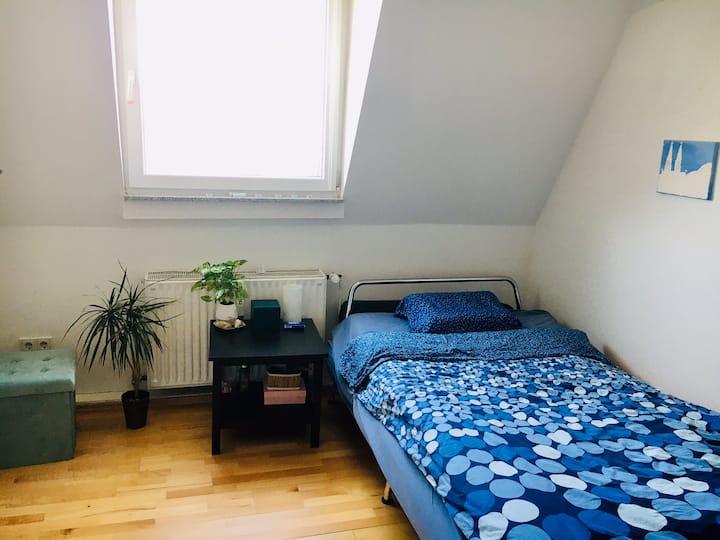 Single room in multicultural neighborhood