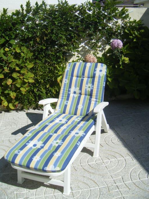For sun bath