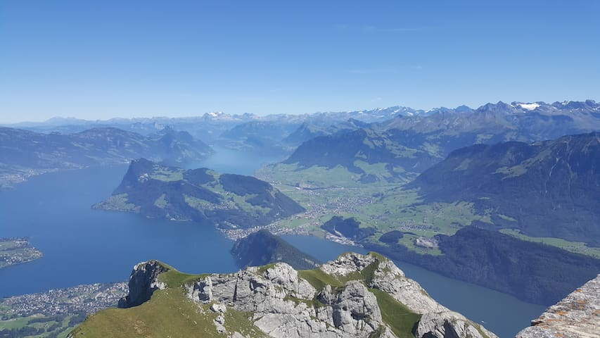 Beckenried around Lake Lucerne