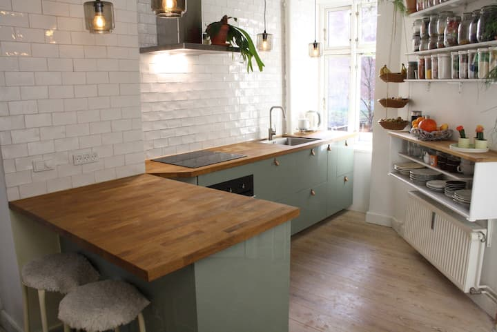cosy apartment in heart of Vesterbro, 2 bikes incl