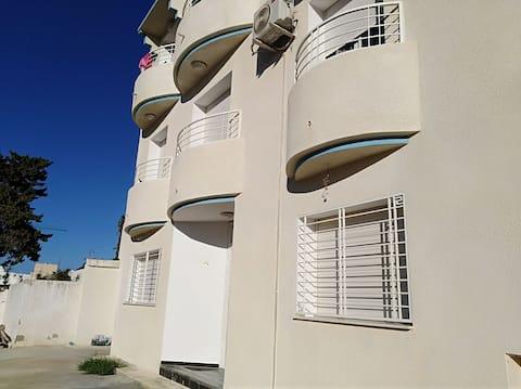 Un S+1 à Mansoura plage kelibia
