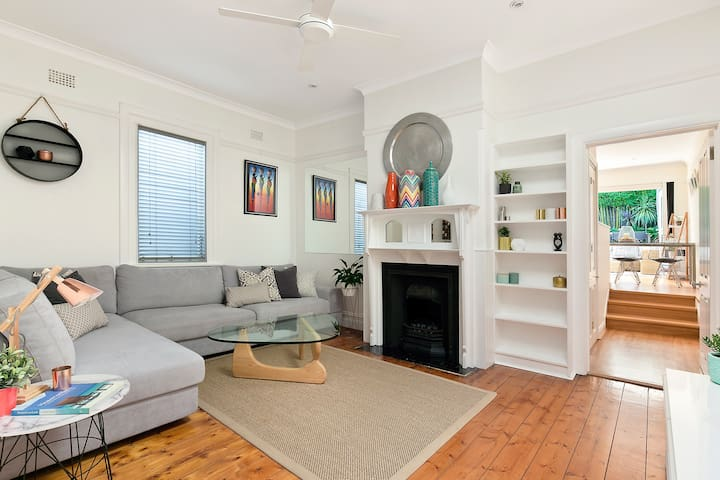 Renovated Semi 5min walk to Manly! - Fairlight - Casa