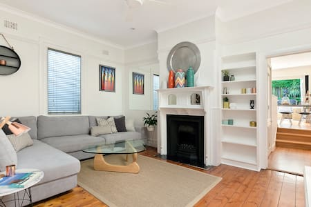 Renovated Semi 5min walk to Manly! - Fairlight - Hus