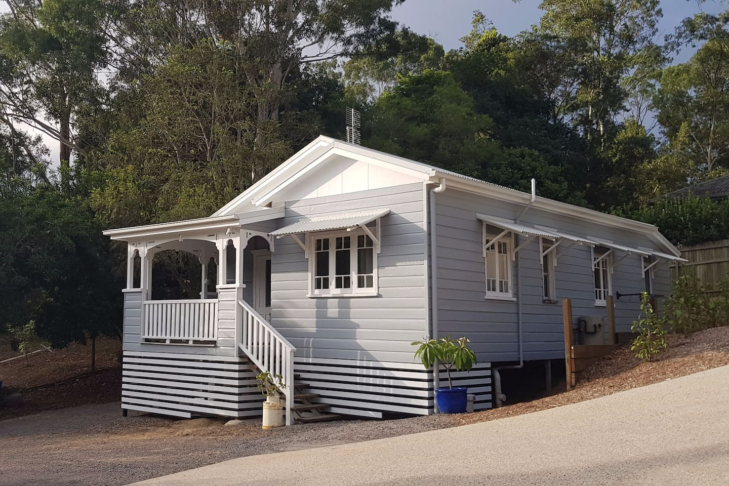 Outside of renovated QLDer cottage