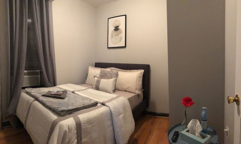 Private bedroom in Harlem, NY ..