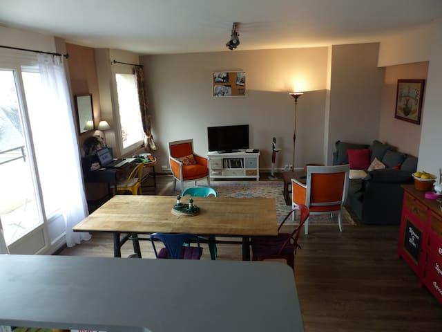 Grd appartement. terrasse plein sud - Brive-la-Gaillarde - Leilighet