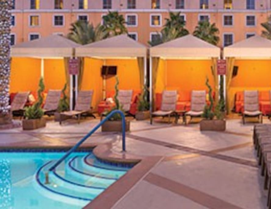 CABANAS FOR YOUR USE AND ENJOYMENT