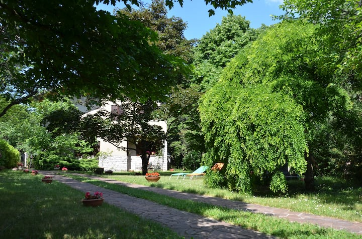 Trieste - Appartamento in villa con giardino