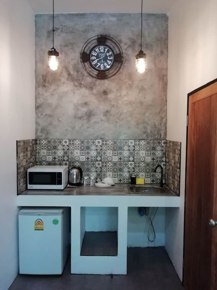 King studio with kitchen 500m from Saikaew beach
